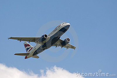 British Airways Editorial Stock Photo