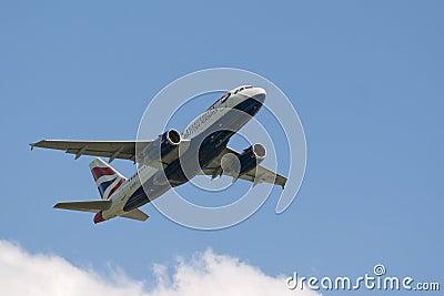 British Airways Editorial Stock Photo