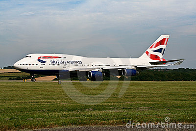 British Airways 747 Editorial Photo