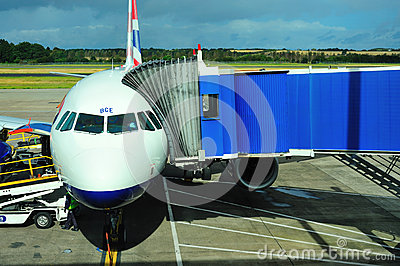 British Airways Airbus Editorial Photo