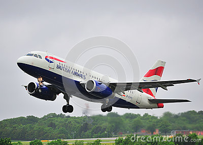 British Airways Airbus A319 Editorial Image