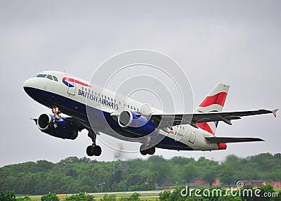 British Airways Airbus A319 Editorial Image