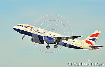 British Airways airbus A320 Editorial Photo