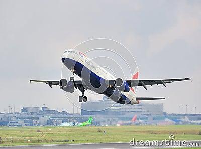 British Airways Airbus A321 Editorial Stock Image