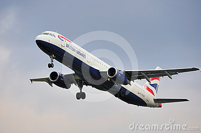 British Airways Airbus A321 Editorial Photography