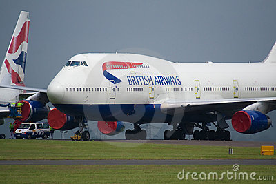 British Airways Boeing 747 Editorial Photo