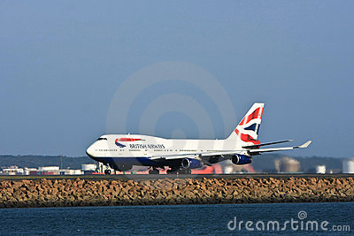 British Airways Boeing 747 jet airliner Editorial Stock Photo