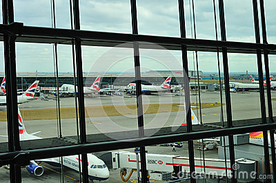 British Airways Terminal 5 Editorial Image