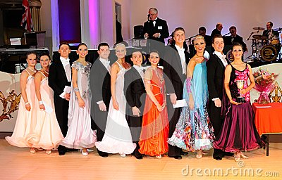 British Amateur Modern Sequence Dance Championship Editorial Photo