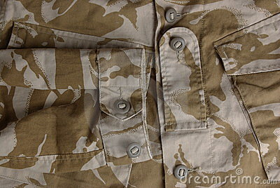 British army desert uniform jacket