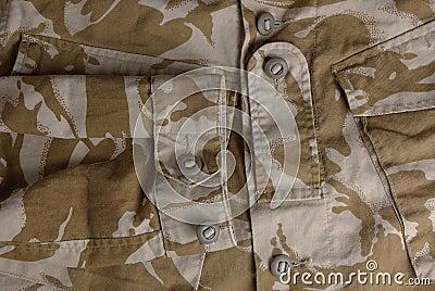 British army desert uniform jacket