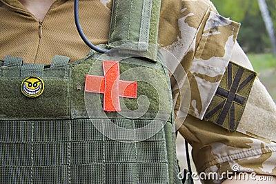 British army medic