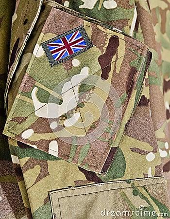 British army soldiers uniform