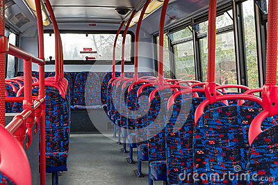 British bus interior