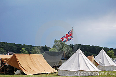British camp