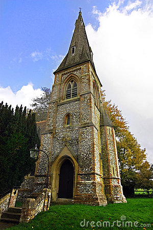 British church tower