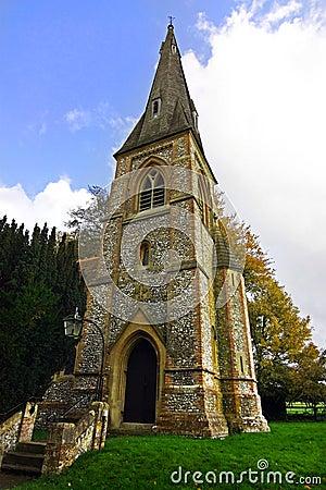 British church tower