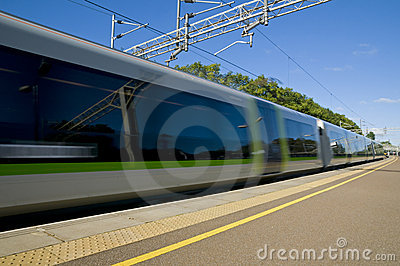 British Commuter Train