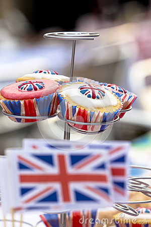 British Cupcakes at Street Party
