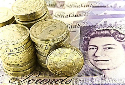 British Currency Editorial Image