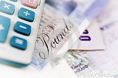 British currency and calculator