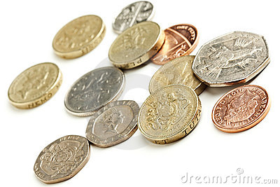 British currency coins