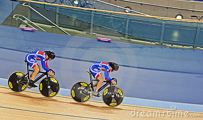 British Cycling Team Editorial Photo
