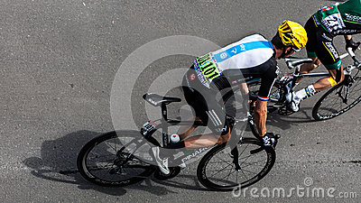 The British Cyclist Bradley Wiggins Editorial Image