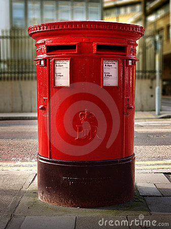 British Double Post Office Box