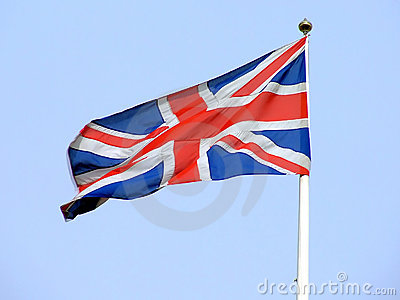Pictures Of England Flag. British flag flaunting on a