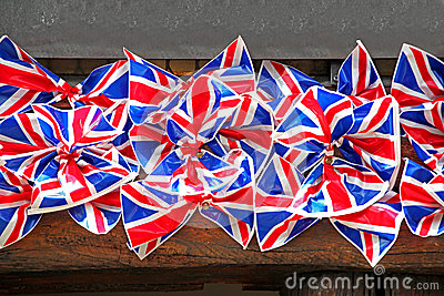 British flag bows
