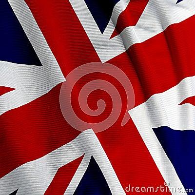 Free British Flag Closeup Stock Photo - 4229100