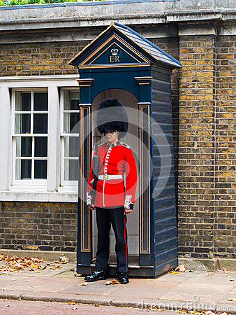 British Guard Editorial Photo