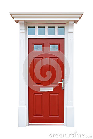 British house door