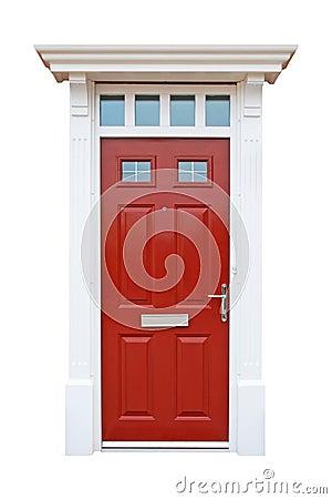British house door