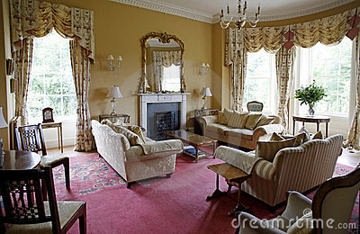 British living room