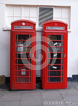 British London Phone Boxes