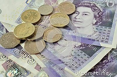 British money Editorial Stock Photo