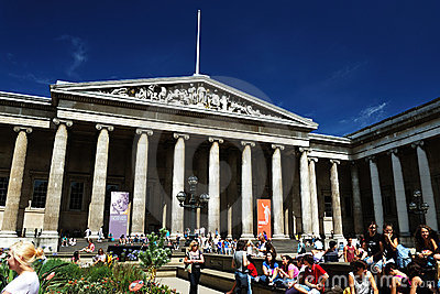 British Museum Editorial Stock Image