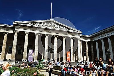 British Museum Editorial Stock Image