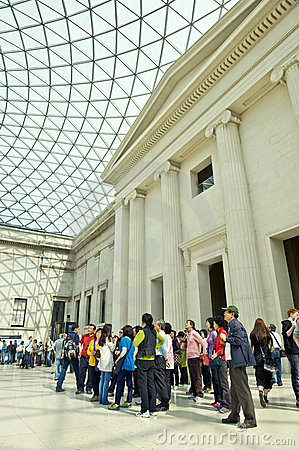British museum Editorial Photography