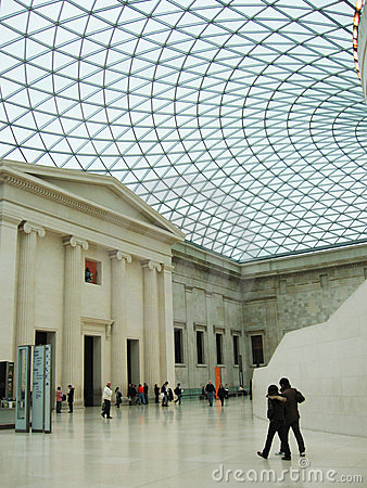British Museum Fotografia Editorial