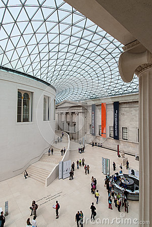 The British Museum Editorial Photography
