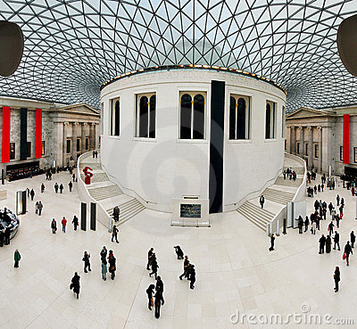 Free British Museum Royalty Free Stock Image - 8257706