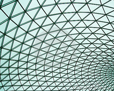 The British Museum, Great Court Editorial Photo