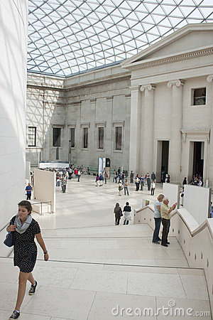 The British Museum - Great Court Editorial Image