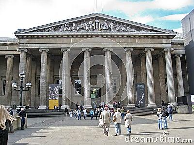 British Museum London Editorial Stock Photo