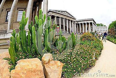 British Museum London Editorial Image