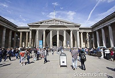 British Museum in London Editorial Stock Image