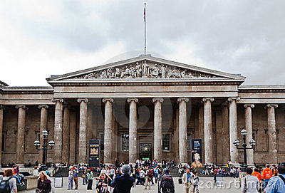 British Museum London Editorial Photo